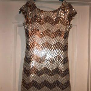 White House Black Market Sequined Dress